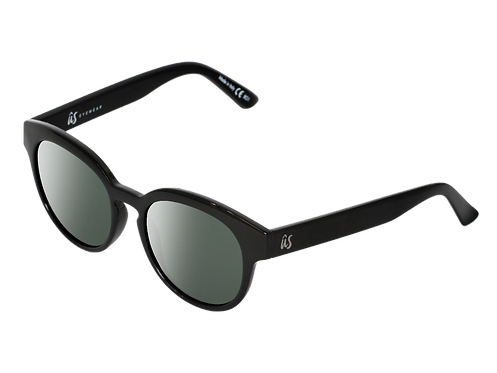 The Nathi eco-friendly sunglasses by Us the Movement in gloss black