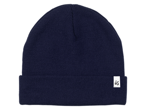 The Damicos Vibe Beanie in Deep Ocean Blue by Ûs the Movement