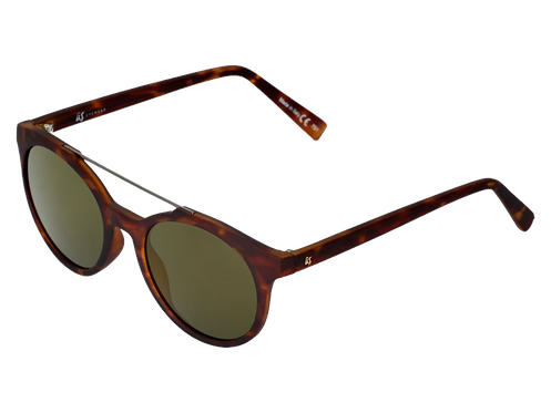 The Calix eco-friendly sunglasses by Us the Movement in brown tortoise shell