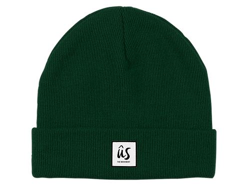 The Dazza Beanie in Grass Green by Ûs the Movement
