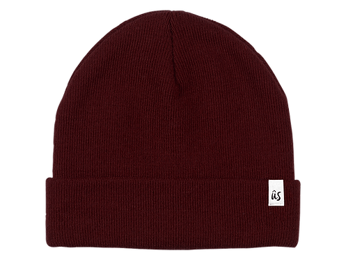 The Damicos Vibe Beanie in Blood Red by Ûs the Movement
