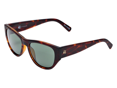 THE DIMAGGIOS - Matte Brown Tortoise Shell (Made in Italy)