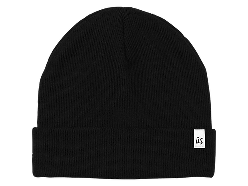 The Damicos Vibe Beanie in Onyx Black by Ûs the Movement