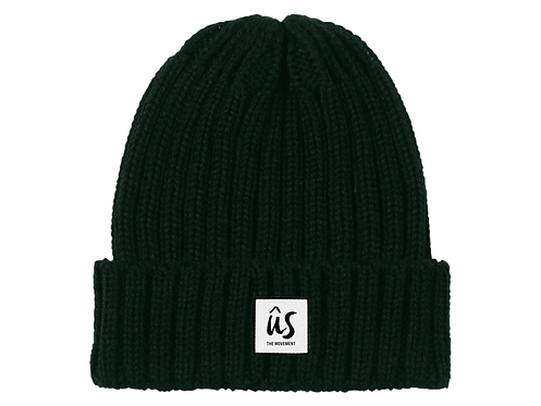 The Keeper Beanie in Grass Green by Ûs the Movement