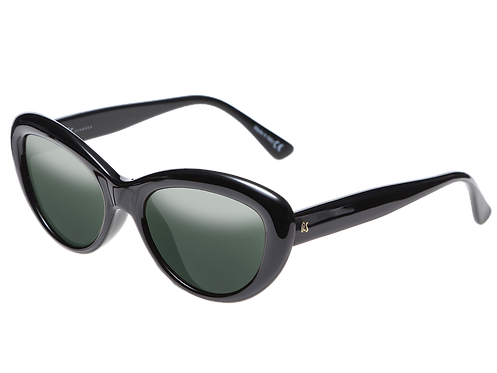 THE DILLAN - Gloss Black with Polarised Lenses (Made in Italy)