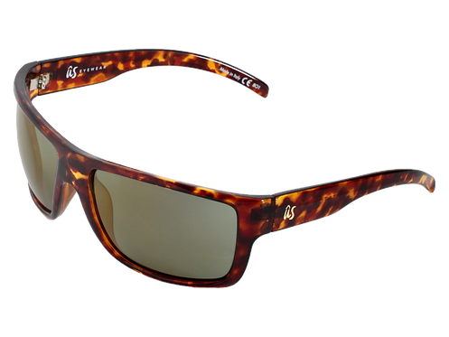 THE TATOU - Gloss Tortoise Shell with Gold Lenses (Made in Italy)