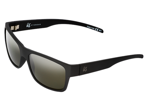 THE ARGOS - Matte Black/Vintage Grey Polarized (Made in Italy)