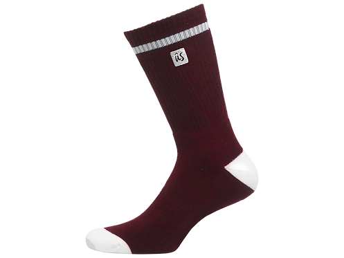 The Dooma Sock in Blood Red by Ûs the Movement