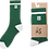 The Dooma Sock in Grass Green by Ûs the Movement - recycled packaging