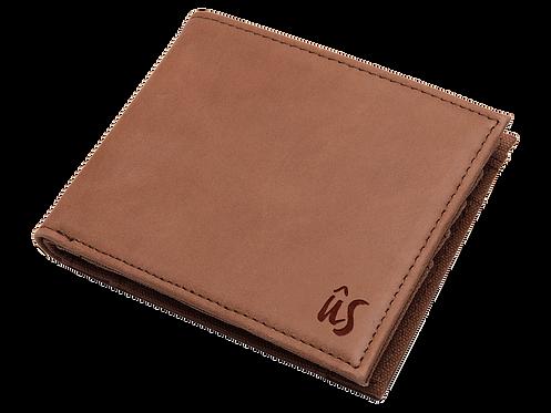 THE SERIN WALLET - Genuine Leather Wallet in Savannah Brown