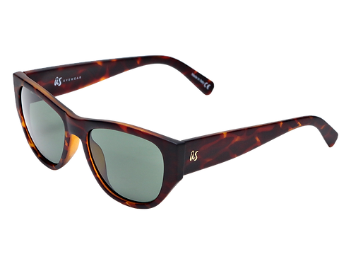 The Dimaggios eco-friendly sunglasses in matte brown tortoise shell by Ûs the Movement