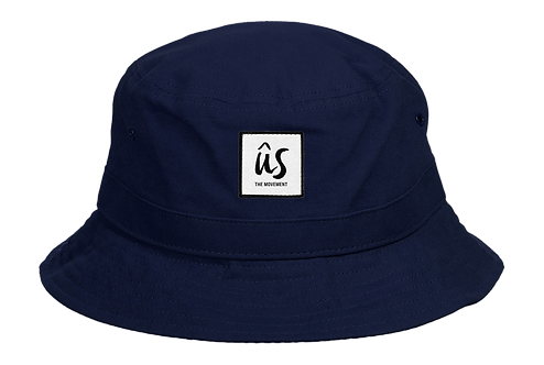 The Adin Reversible Hat in Deep Ocean Blue by Ûs the Movement