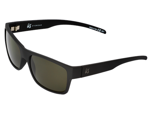 The Argos sustainable sunglasses by Us the Movement in matte black with polarised lenses