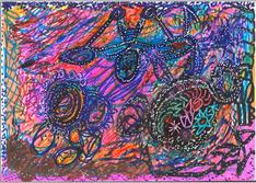 Desenho Hermeto Pascoal - Técnica Mista - 1999 - 4