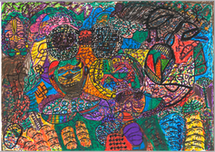 Desenho Hermeto Pascoal - Técnica Mista - 1999 - 7