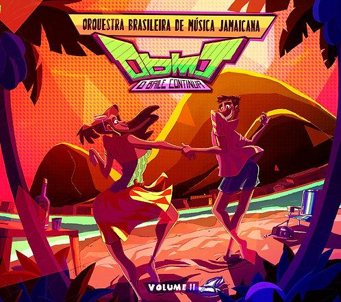 CD Orquestra Brasileira de Música Jamaicana - OBMJ Volume 2