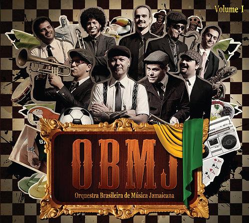 CD Orquestra Brasileira de Música Jamaicana - OBMJ Volume 1