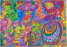 Desenho Hermeto Pascoal - Técnica Mista - 1999 - 5