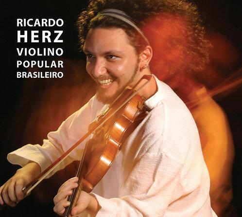 CD Ricardo Herz - Violino Popular Brasileiro