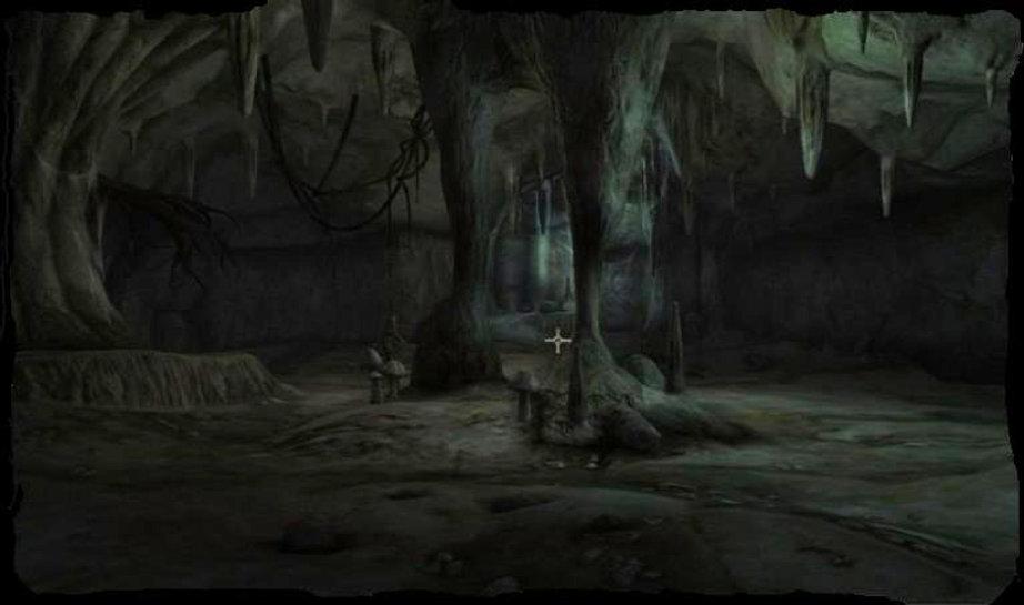Grotte échelle pelle marmite caverne