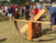 ventilateur en bois