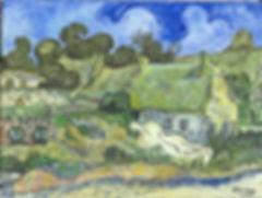 Chaume de Cordeville Van Gogh