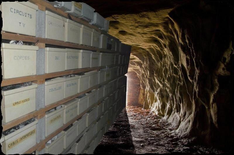 grotte caverne tiroir