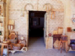 Porte de musée