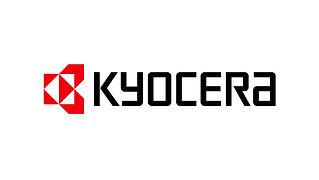 Kyocera Logo. Cutting tool manufacturer