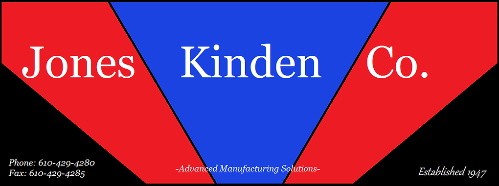 Jones Kinden Logo. Machine Tool Dealer. Tooling Distributor