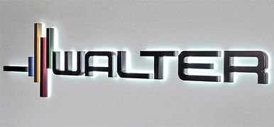 Walter tools Logo.  Full line of carbide cutting tools an indexable inserts.