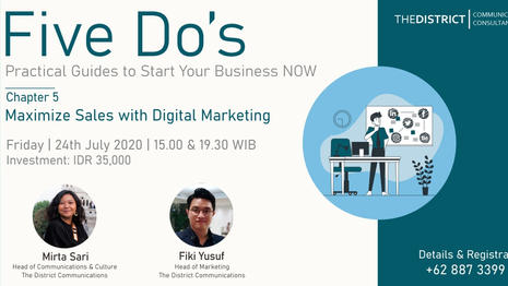 FIVE DO's Chapter 5: Maximize Sales with Digital Marketing