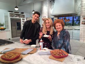 Cathy Mitchell with Ben & Kellie at Pickler & Ben Nashville national TV