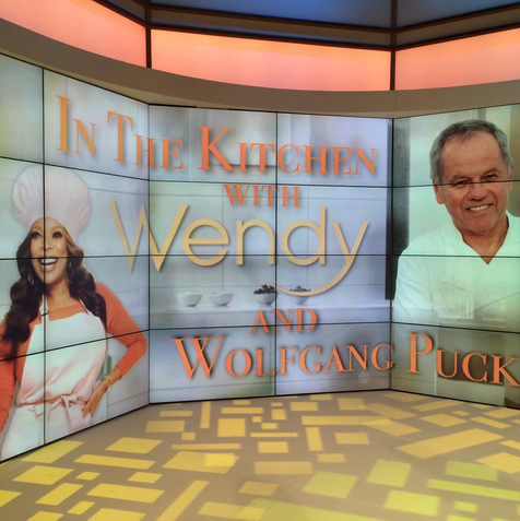 Wolfgang Puck In the Kitchen Wendy Williams Show