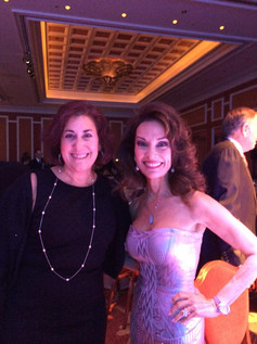 Andrea Pass with Susan Lucci