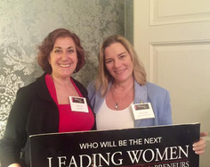 Andrea Pass w Dr. Donnica Moore at Leading Women Entrepreneurs