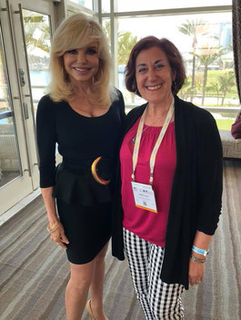 Loni Anderson with Andrea Pass