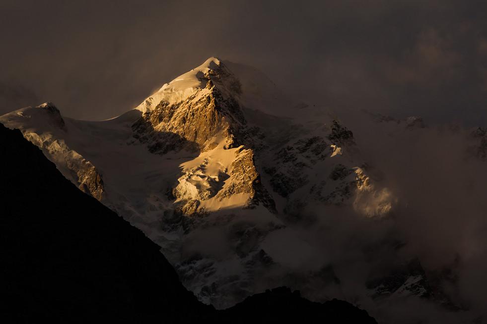 Breathtaking mountains in Hunza Valley Pakistan, 2018