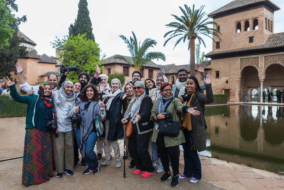 The Art of Seeing group Granada 2019
