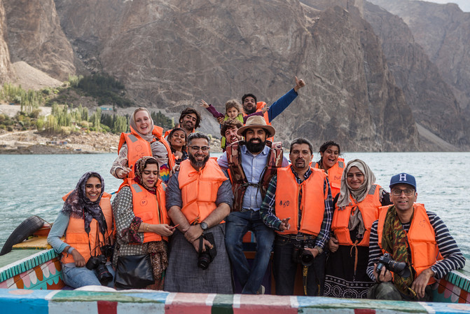 Attabad Lake Pakistan 2018