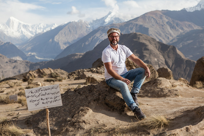 Instructor Floris in Hunza Valley 2018