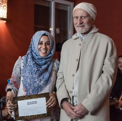 Receiving Certificates Granada 2019