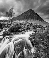 Etive Mor and the Coupall river in Glencoe