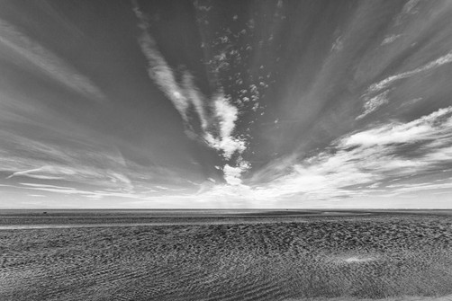at the edge of Stiffkey marsh