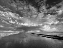 A shower over the Nene Washes