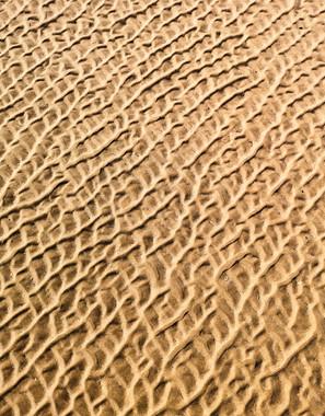 tidal sand patterns