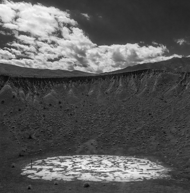 dry pond, The Crater, Death Valley