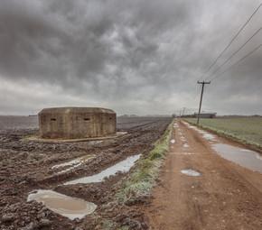 The road to Teakettle Farm