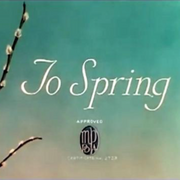 To Spring (1936)