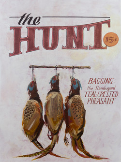 the HUNT (Teal-Crested Pheasant)